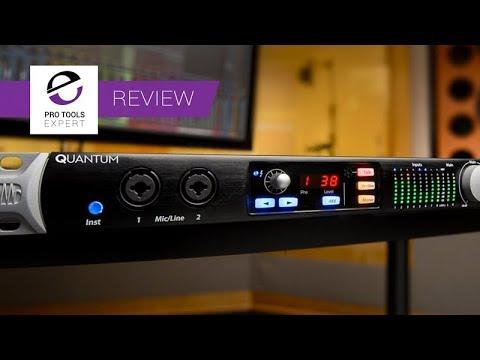 Review - PreSonus Quantum Thunderbolt 2 Audio Interface