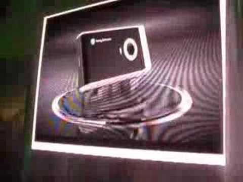 Sony Ericsson P1i introduction Londen