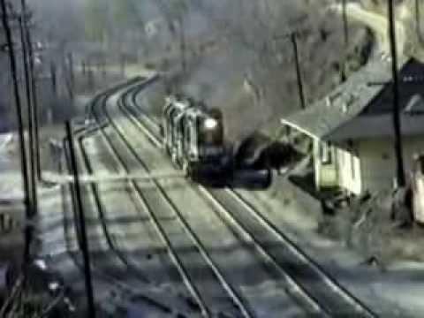 Southern Railway at Saluda NC