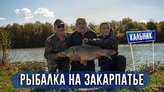 Рыбалка на Карпа в полудиком водоёме 2021 ЧАСТЬ 1 ЛОВЛЯ КАРПА НА ЗАКАРПАТЬЕ