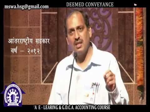 Deemed Conveyance for Cooperative Housing Societies - Housing Guru CA Ramesh Prabhu