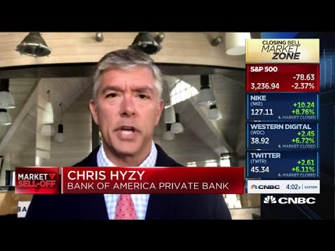 Market sell-off is a buying opportunity: BofA Private Bank's Chris Hyzy