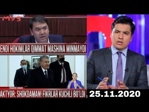 Markaziy Studiya 25.11.2020 - Endi Hokimlar Qimmat Mashina Minmaydi!