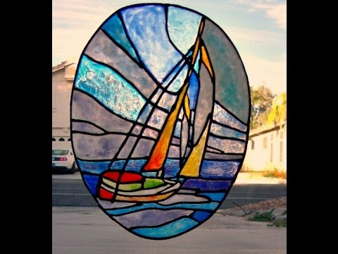 Stained Glass Window Cling Demonstration