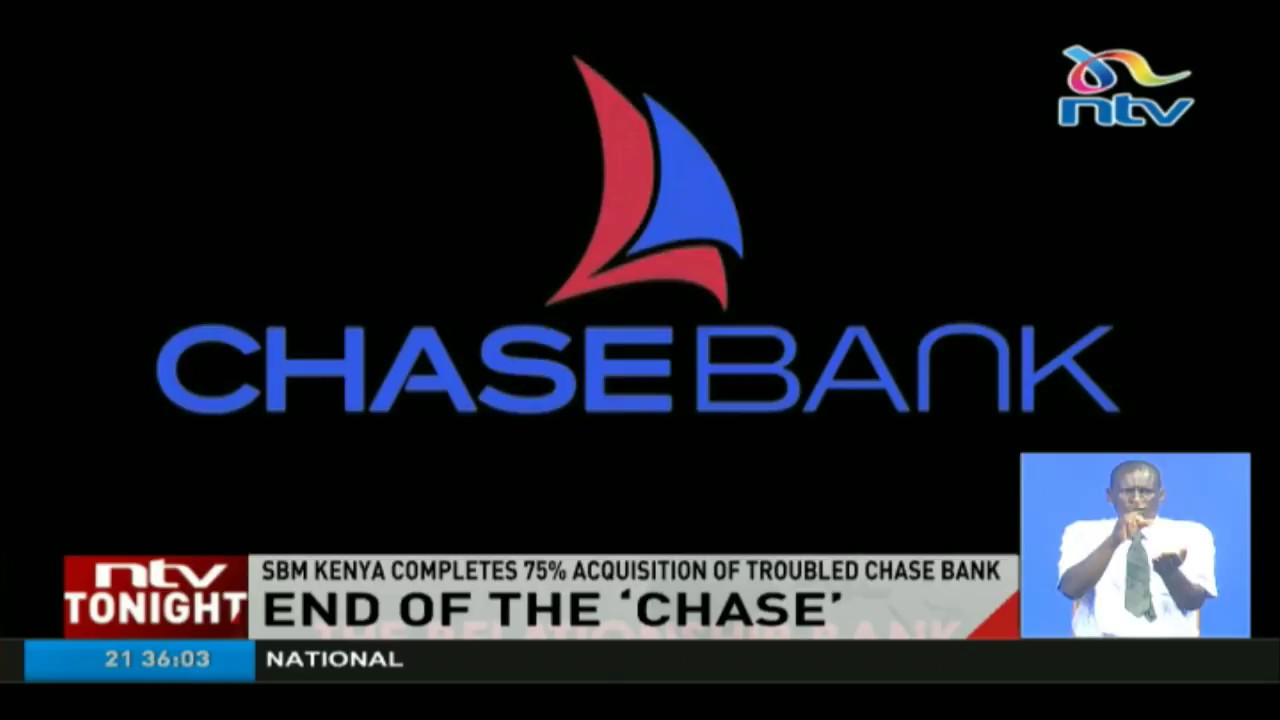 End Of The U0027chaseu0027 For Chase Bank As SBM Kenya Seals 75% Acquisition Deal