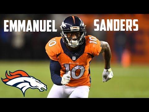"Emmanuel Sanders || ""Most Underrated WR"" || 2016 Highlights"