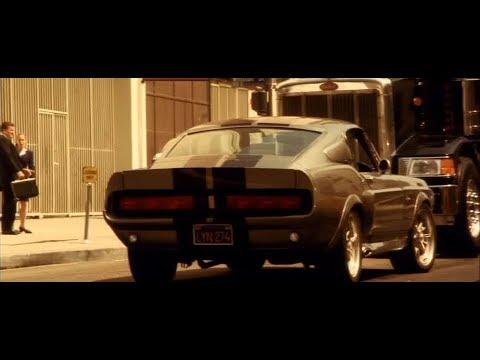 Мемфис уходит от погони на Shelby GT500. Часть-1 \\ Угнать за 60 секунд
