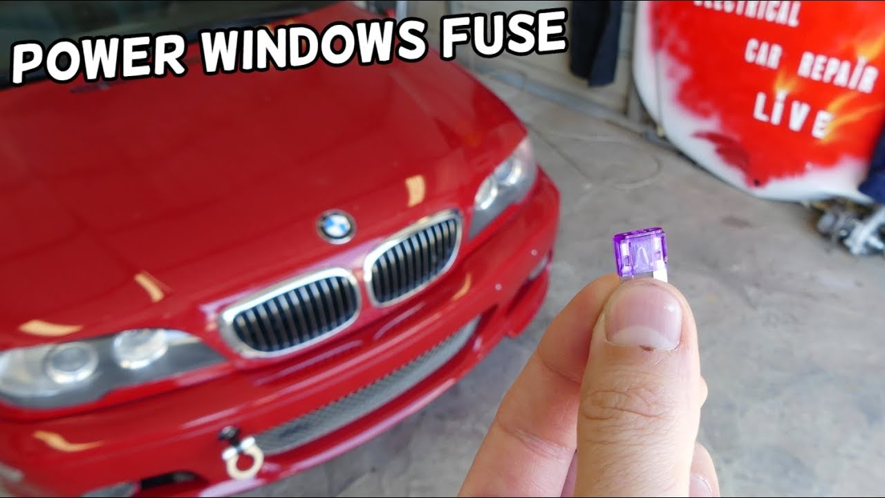 Power Windows Not Working Master Window Switch Fuse Location Replacement Bmw E46 Youtube