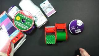 $1 Walmart Minion Duct Tape and Dollar Tree Craft Haul with Easy Grip Handle Product Review