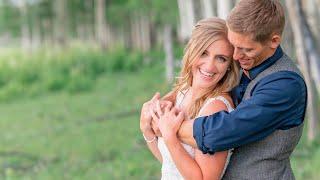 JENNA + TERRIL'S RUSTIC MOUNTAIN WEDDING