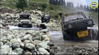 Suzuki Gypsy vs Mahindra Thar | 4x4 | Off-Road | River Crossing | Kashmir Off Road