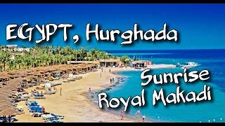 Sunrise Royal Makadi Resort 5*. Egypt, Hurghada(Отдых на пляже в Sunrise Royal Makadi. Прокатались на водном скутере, на парашюте, на верблюде, пенный бассейн для..., 2017-02-02T06:33:54.000Z)