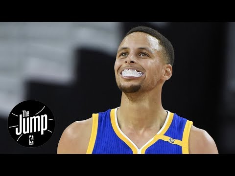 Should Steph Curry be suspended for throwing mouthpiece? | The Jump | ESPN