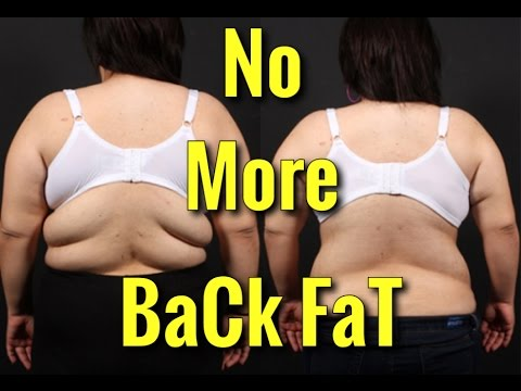 2cb34b190b6a1 How to Lose Back Fat - Top 4 Exercises - YouTube