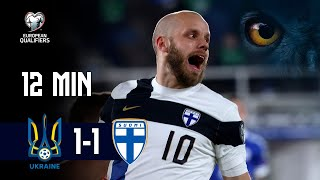 Full Highlights (12 min.) | Ukraina-Suomi 1-1 I FIFA World Cup 2022 -karsinnat I 28.3.2021