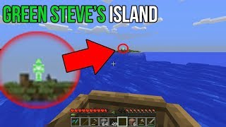 Where to find Green Steve in Minecraft (Green Steve