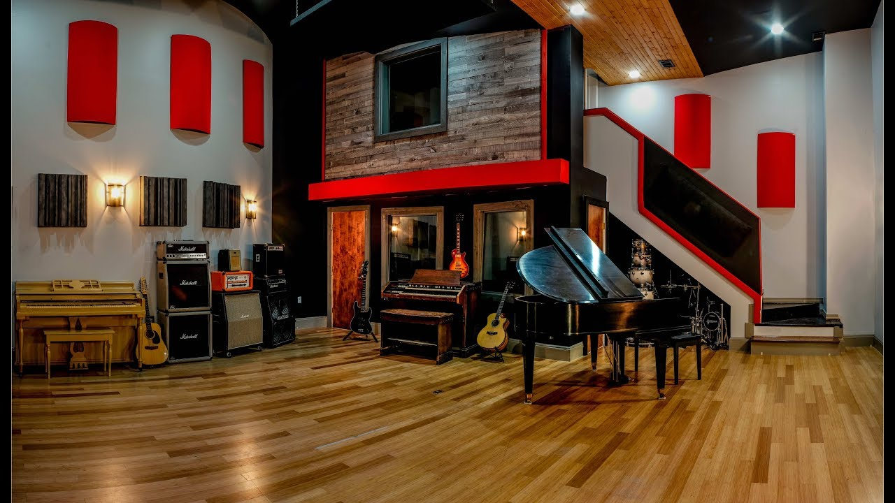 Nashville Recording Studio Tour