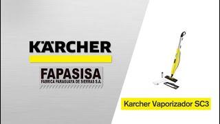 Vaporizadora linea hogar SC 3 Upright EasyFix - Kärcher FAPASISA Paraguay