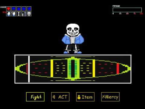 Screen Shake and Last Attack | Sans Simulator