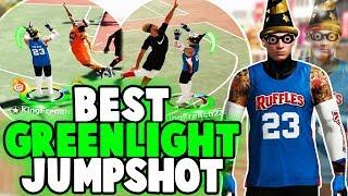 GLITCHY GREENLIGHT JUMPSHOT DOESNT MISS AT PARK NBA 2K19 🤑