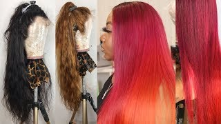 How To Bleach A WIG EVENLY FOR BEGINNERS ONLY || YOLISSA HAIR BODYWAVE