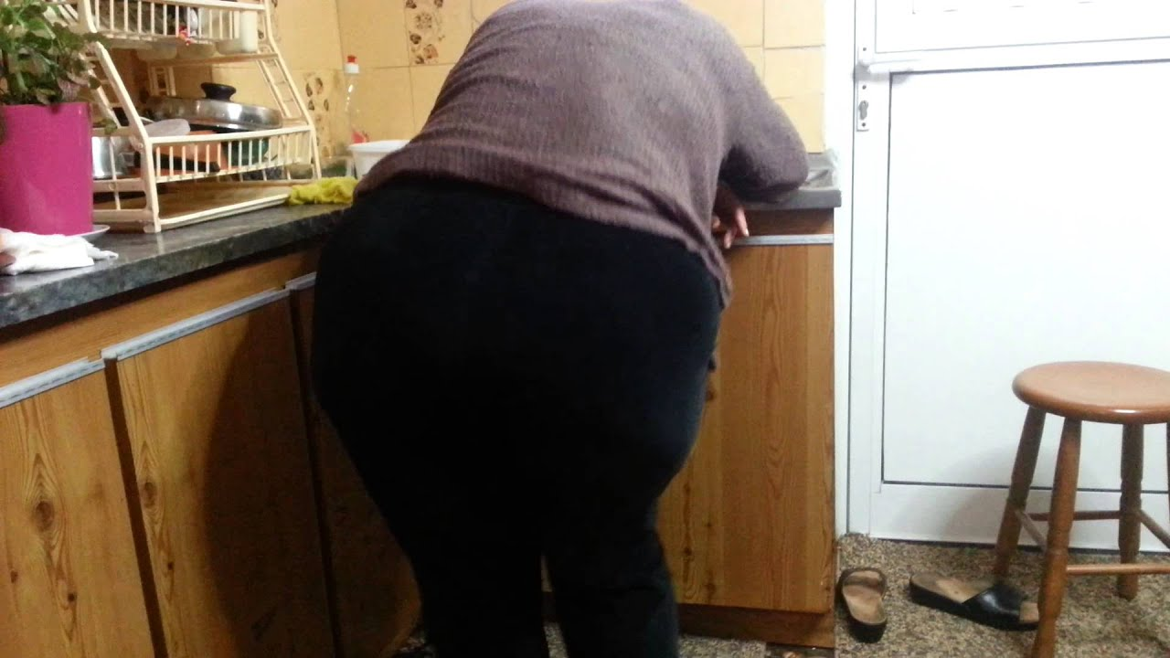 Big butt ass granny