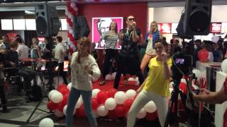 Открытие KFC Днепропетровск Мост-Сити