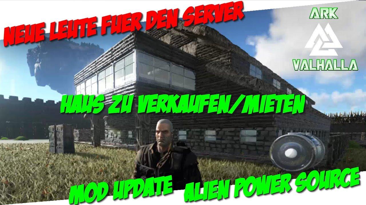 Alien Power Source / Haus zu verkaufen/mieten - ARK: Survival ...