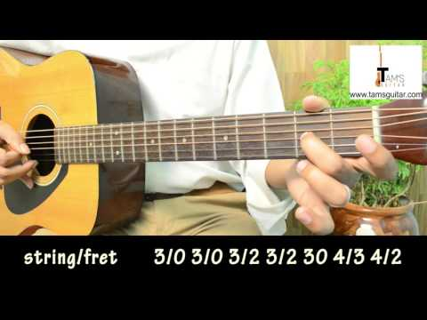 We shall overcome guitar lesson for absolute beginners (www.tamsguitar.com)