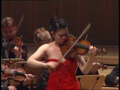 Min Lee - Mendelssohn Violin Concerto E Minor First movement Allegro molto appassionato