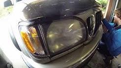 Sylvania Automotive Headlight Restoration Kit Review & Demo