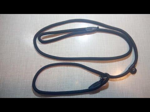 Поводок-Ошейник контроллер для собак за полтора доллара (1.5$). Ринговка,удавка для дрессировки.