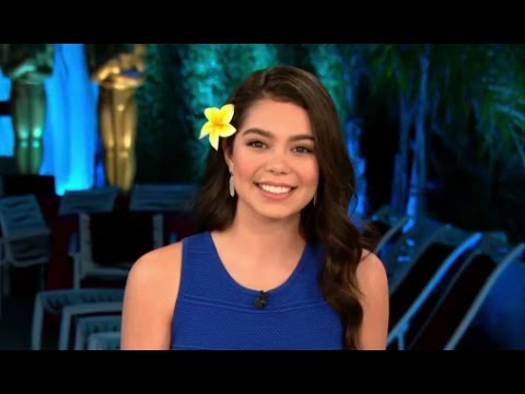 Oscars 2017: Moana Star Auli'i Cravalho Interview on her Oscars Performance