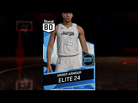 0a945583f73 NBA 2K16 2016 Under Armour Elite 24 Jersey & Court Tutorial