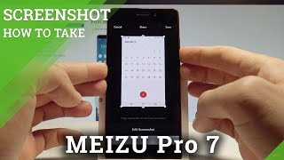 How to Take Screenshot on MEIZU Pro 7 - Capture Screen |HardReset.Info