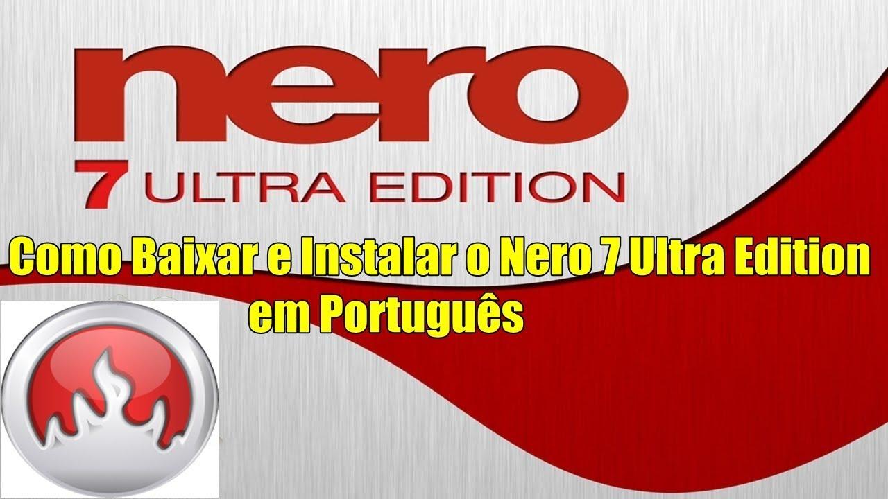 download nero 7 gratis em portugues completo