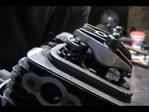 Регулировка клапанов мотокосы Stihl 130