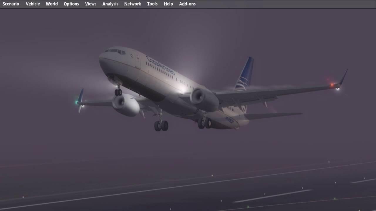 TDS 737-800 split scimitar merge PMDG VC & immersion 737