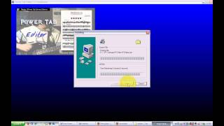Powertab Editor: downloaden, Installeren en powertab file downloaden en openen (windows XP)