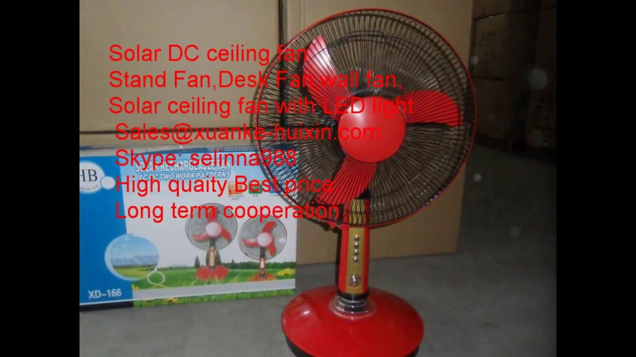 Solar Dc Ceiling Fan Desk Fan Solar Wall Fan Solar Fan