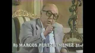 Napoleon Bravo entrevista al ex-Pte. Marcos Perez Jimenez (Parte 1)