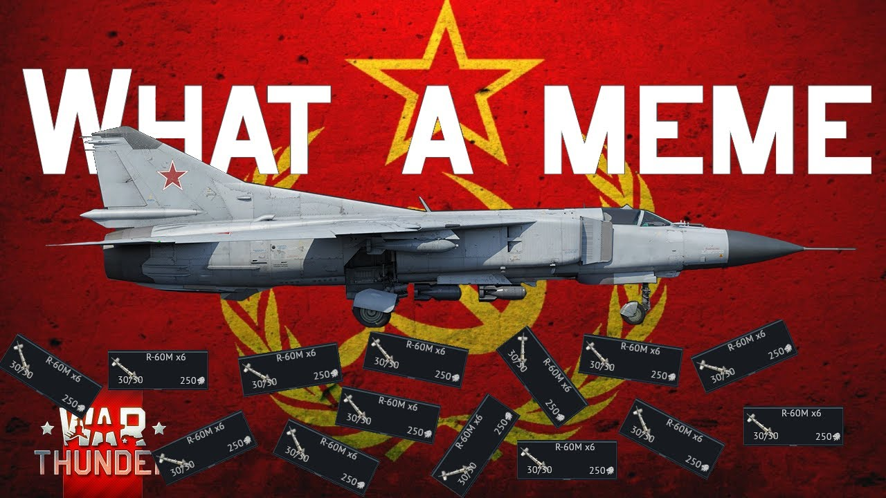 Only with MiG-23