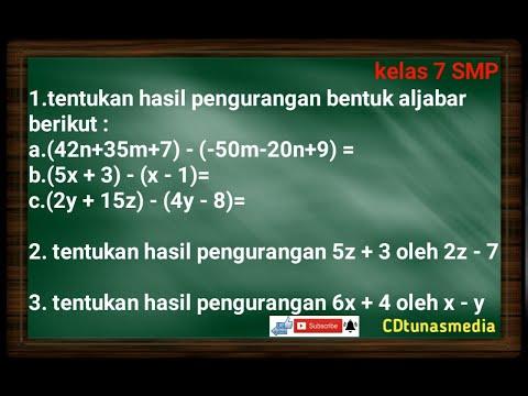 cara-mudah-mengerjakan-pengurangan-aljabar-||-matematika-kelas-7-smp
