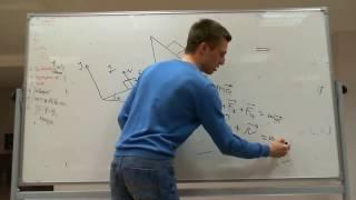 Физика  Наклонная плоскость  Силы и Проекции