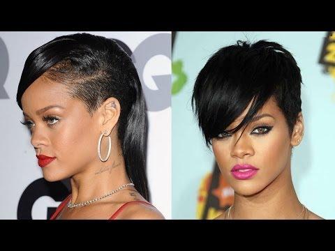 Rihanna's Iconic Hair Looks