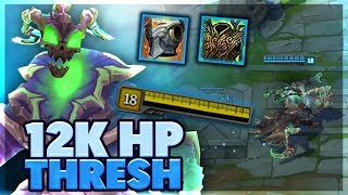IMPORTANT THRESH TIPS | MOST HP ON THRESH EVER | HP THRESH SUPPORT - BunnyFuFuu