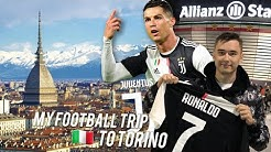 My Trip to Torino: Juventus Store and Ronaldo Goal | VLOG
