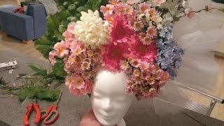 Flower Headdress Tutorial - Kopfschmuck Tutorial DIY
