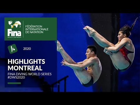 Diving Highlights Montreal   FINA/CNSG Diving World Series 2020