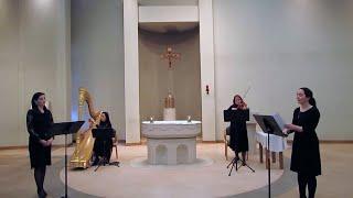 A Celtic Lenten Journey - Harp, Voice and Violin (Part 1 of 2)